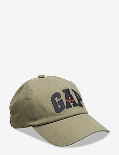 Logo Baseball Hat - czapki - olive 005