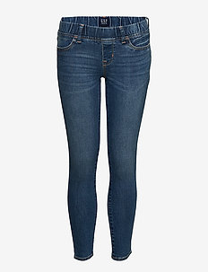 Kids Jeggings with Stretch - MEDIUM INDIGO 8