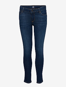 Kids Super Skinny Jeans with Stretch - DARK INDIGO 1
