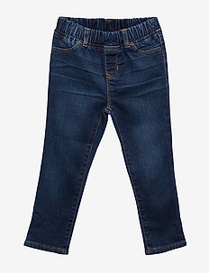 Toddler Jeggings with Stretch - DARK WASH