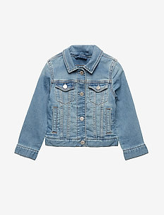 Kids Icon Denim Jacket - jeansjakker - light indigo 1
