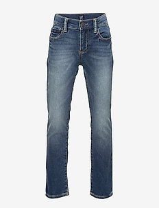 Kids Slim Jeans With Stretch - MEDIUM WASH