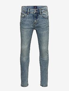 Kids Skinny Jeans with Stretch - jeans - light wash
