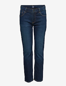 Kids Slim Jeans with Stretch - jeans - dark wash