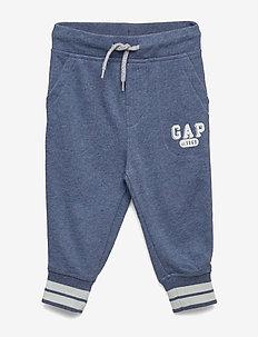 FT GAP ARCH JGR - sweatpants - blue heather