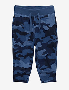 Toddler Pull-On Camo Joggers - bukser - blue camo