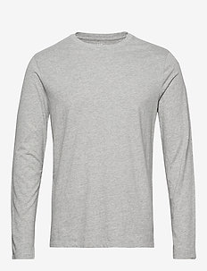 Long Sleeve Classic T-Shirt - B10 GREY HEATHER