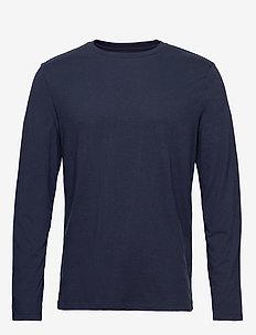 Long Sleeve Classic T-Shirt - TRUE INDIGO 340