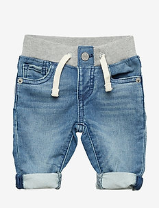 Baby Pull-On Slim Jeans - LIGHT WASH