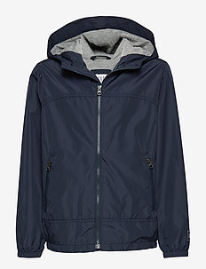 Kids Jersey-Lined Windbuster - windbreaker - true indigo 340