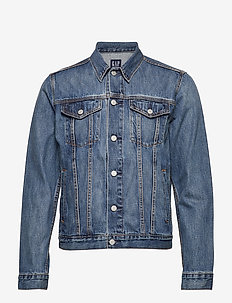 Icon Denim Jacket - MEDIUM INDIGO 4