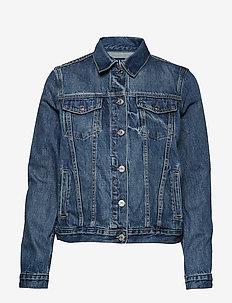 Icon Denim Jacket - SADDLE BLUE