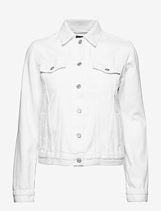 Icon Denim Jacket - OPTIC WHITE 3