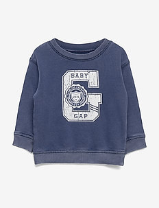 Baby Gap Logo Sweatshirt - ELYSIAN BLUE