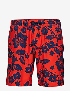 V-SWIM TRUNK - badebukser - hot red 664