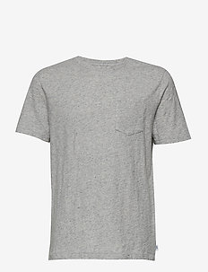 Kids Pocket Short Sleeve T-Shirt - light heather grey