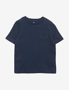 Kids Pocket Short Sleeve T-Shirt - korte mouwen - marine blue