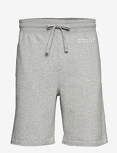 "Vintage Soft 9"" Gap Logo Shorts - B10 GREY HEATHER"