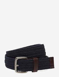 Stretch Webbing Belt - TAPESTRY NAVY
