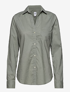 FITTED BF SHIRT - SAGE