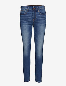 Mid Rise True Skinny Jeans - MEDIUM INDIGO 8