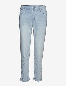 LT WT GF LT SUNSHINE - straight jeans - light indigo 6