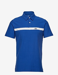 FRANCH XLS JERSEY LOGO POLO - ADMIRAL BLUE