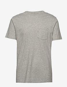 Pocket T-Shirt - basic t-shirts - b10 grey heather