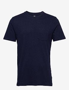 Pocket T-Shirt - basic t-shirts - tapestry navy