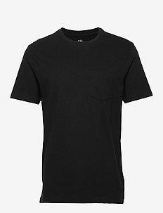 Pocket T-Shirt - basic t-shirts - true black
