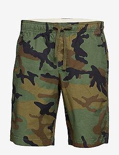 """9"""" Easy Shorts - GREEN CAMO"""