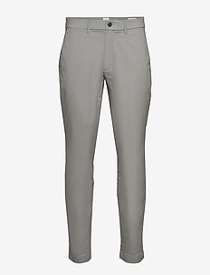 Modern Khakis in Slim Fit with GapFlex - pantalons chino - clear grey