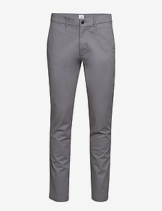 Modern Khakis in Slim Fit with GapFlex - GREY AREA