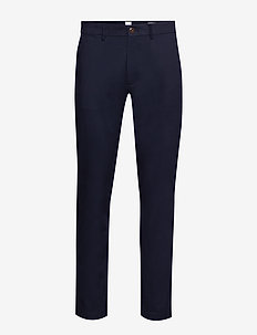 Modern Khakis in Slim Fit with GapFlex - pantalons chino - new classic navy