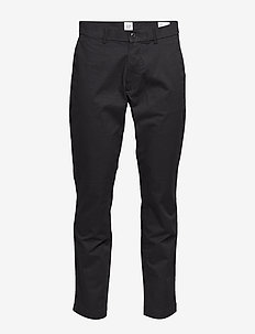 Modern Khakis in Slim Fit with GapFlex - pantalons chino - true black v2 2