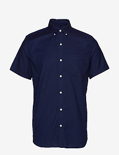 Lived-In Stretch Oxford Short Sleeve Shirt - TAPESTRY NAVY