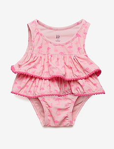 Baby Ruffle Swim Two-Piece - maillots 1 pièce - belle pink