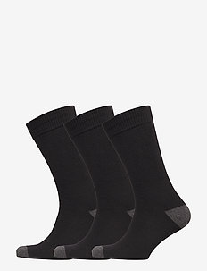 Crew Socks (3-Pack) - regulære sokker - true black