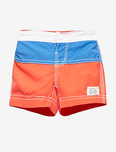 Baby Colorblock Swim Trunks - shorts de bain - new coral