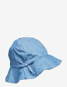 CHAMBRAY HAT - LIGHT WASH