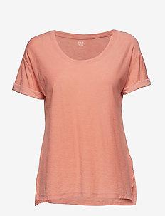 Soft Slub Relaxed Crewneck T-Shirt - GRAVLAX 505