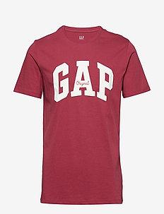 Gap Logo Crewneck T-Shirt - INDIAN RED