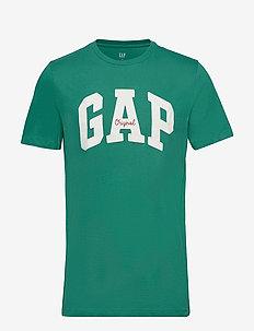 Gap Logo Crewneck T-Shirt - IRISH CLOVER