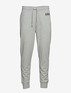 CHN FT MODERN LOGO FLC PANT - light heather grey v6