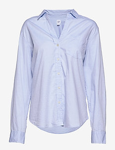 FITTED BF SHIRT - OXFORD - LIGHT BLUE
