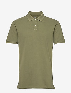 All Day Pique Polo Shirt - À manches courtes - army jacket green v2