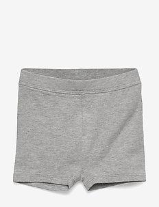 Toddler Cartwheel Shorts In Stretch Jersey - LIGHT HEATHER GREY B10