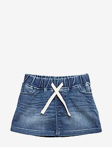 Toddler Denim Skirt - MEDIUM WASH