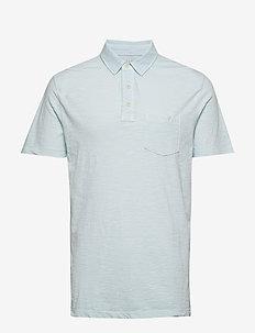 Vintage Slub Jersey Polo Shirt - kortærmede - air