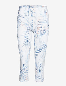 NW ECLIPSE PRINT CAPRI PANT - PALM LEAF